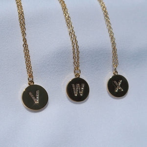 Say My Name Initial Necklace - Twice Shy