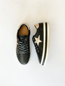 PIXIE - BLACK/GOLD STAR