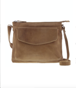 AUDREY ENVELOPE CROSSBODY - TAN