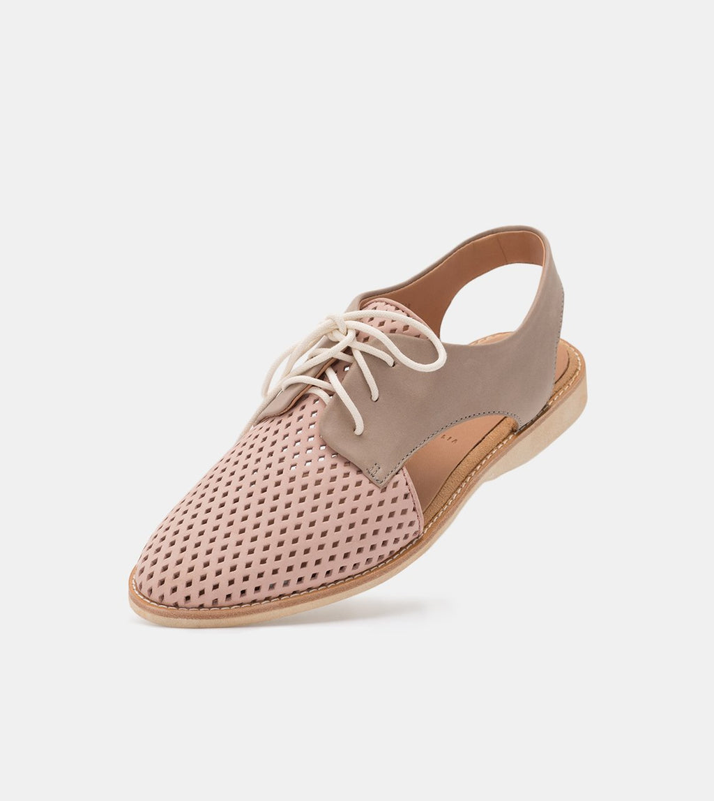 SLINGBACK PUNCH - BLUSH/STONE