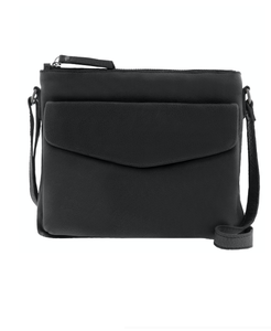 AUDREY ENVELOPE CROSSBODY - BLACK
