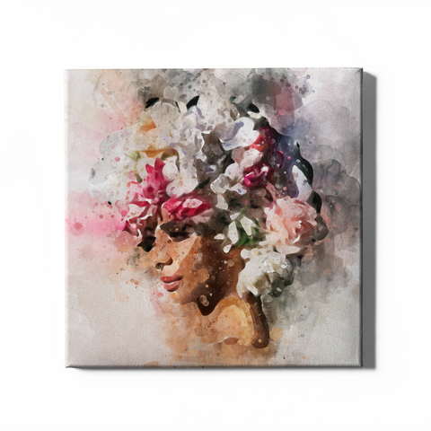 Flower Fro | Canvas