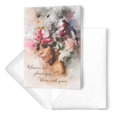 Flower Fro Cards (set of 10)