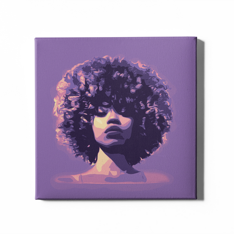 Royal Fro | On Canvas