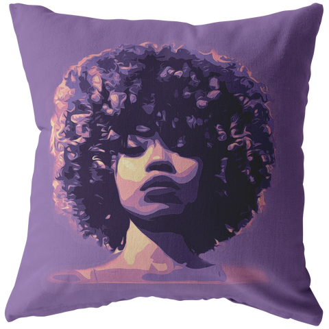 Royal Fro Pillow