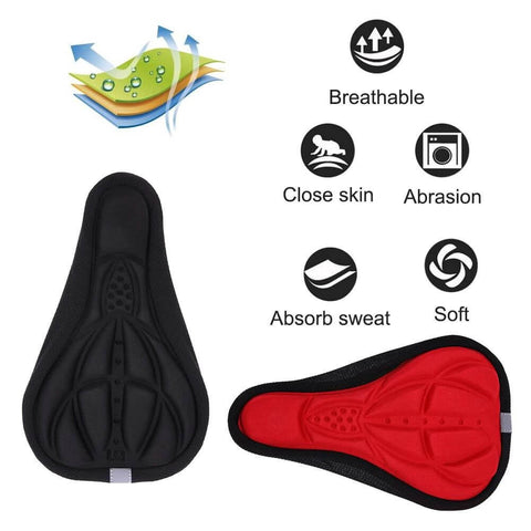 Most Soft & Comfortable Bike Seat Cushion Cover | Smart Outdoor Store