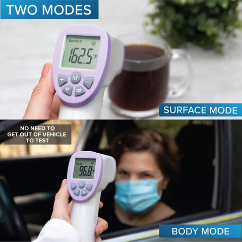 No Touch Infrared Forehead Thermometer - For Adultss and Kids | Smart Outdoor Store