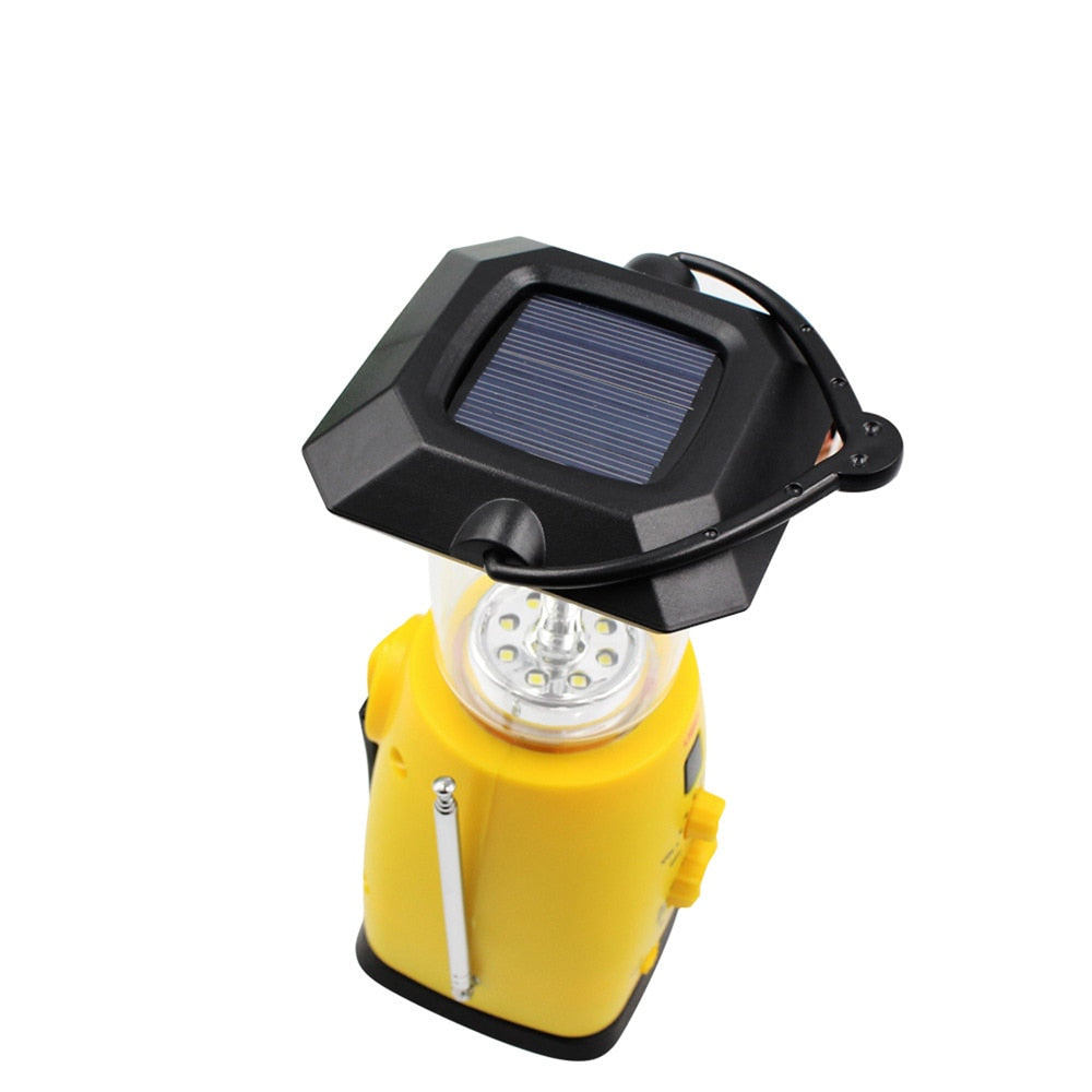 Multi-function Solar Emergency Light - Smart Outdoor Store