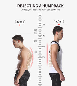 Adjustable Back Posture Corrector Device | Smart Outdoor Store