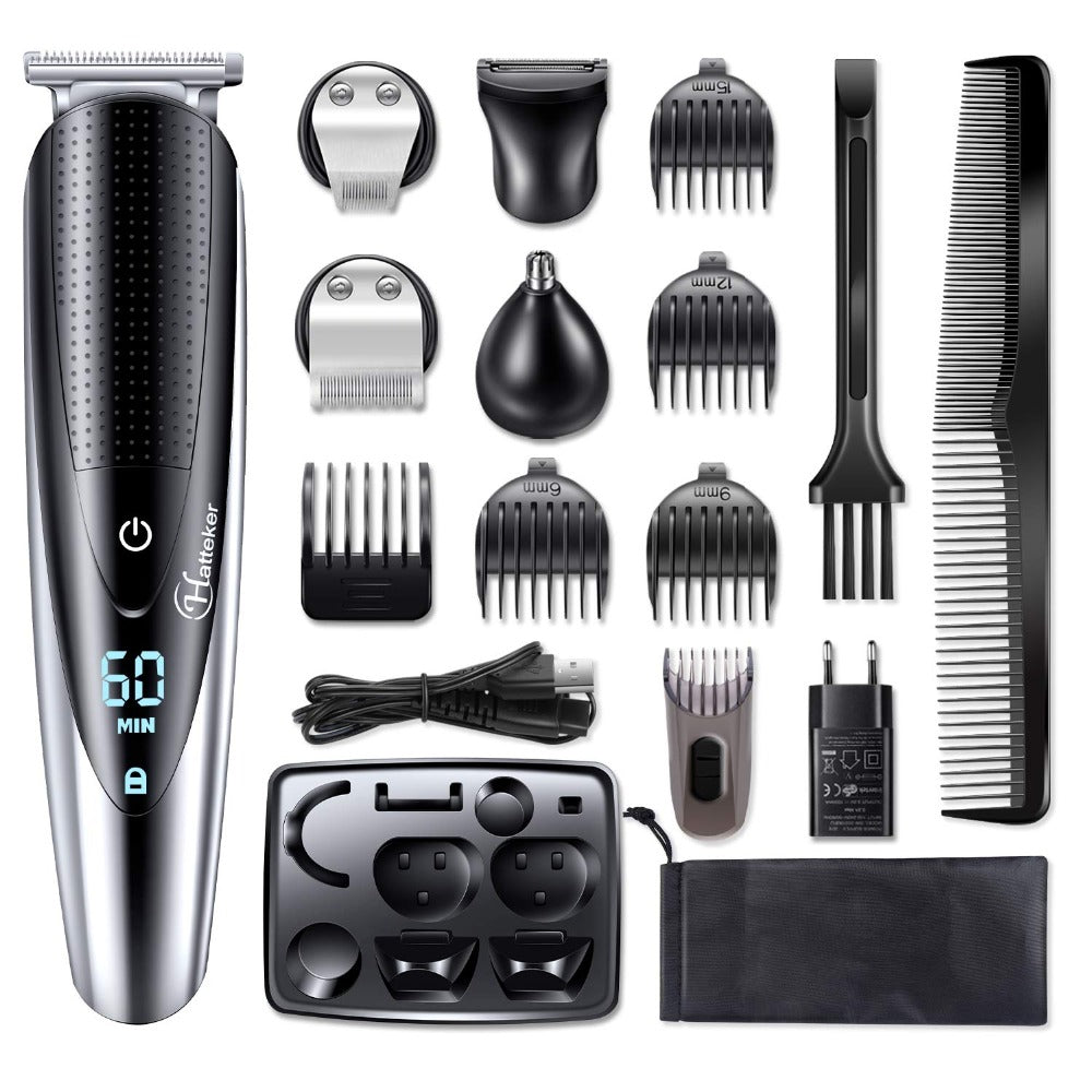 Professional Waterproof Electric Hair Cutting Machine Men Beard Shaver Hair Clipper | Smart Outdoor Store