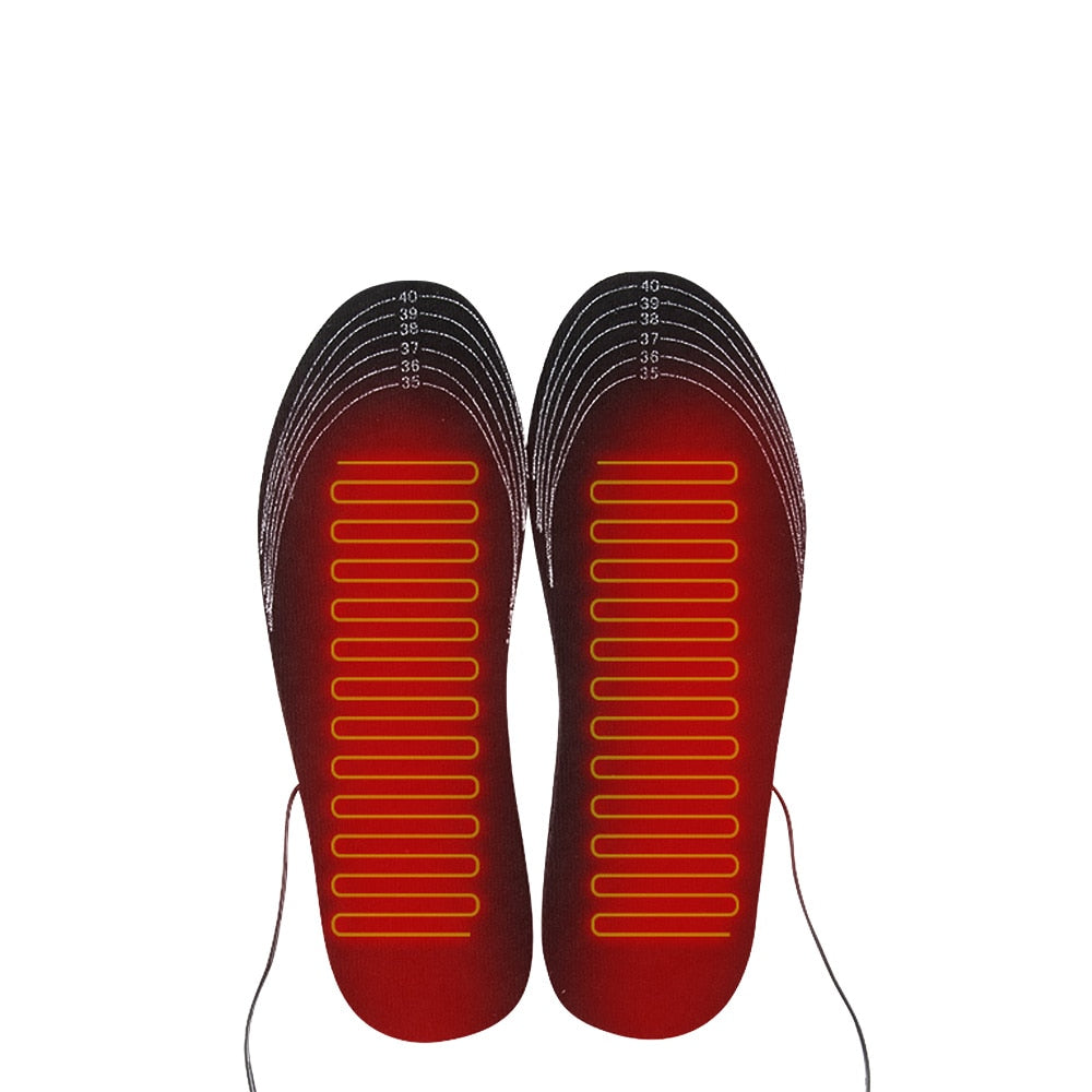 USB Heated Shoe Insoles Foot Warming - Smart Outdoor Store