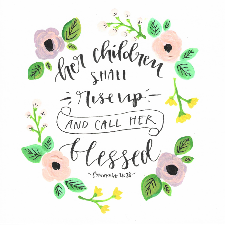 Proverbs 31 Watercolor Print