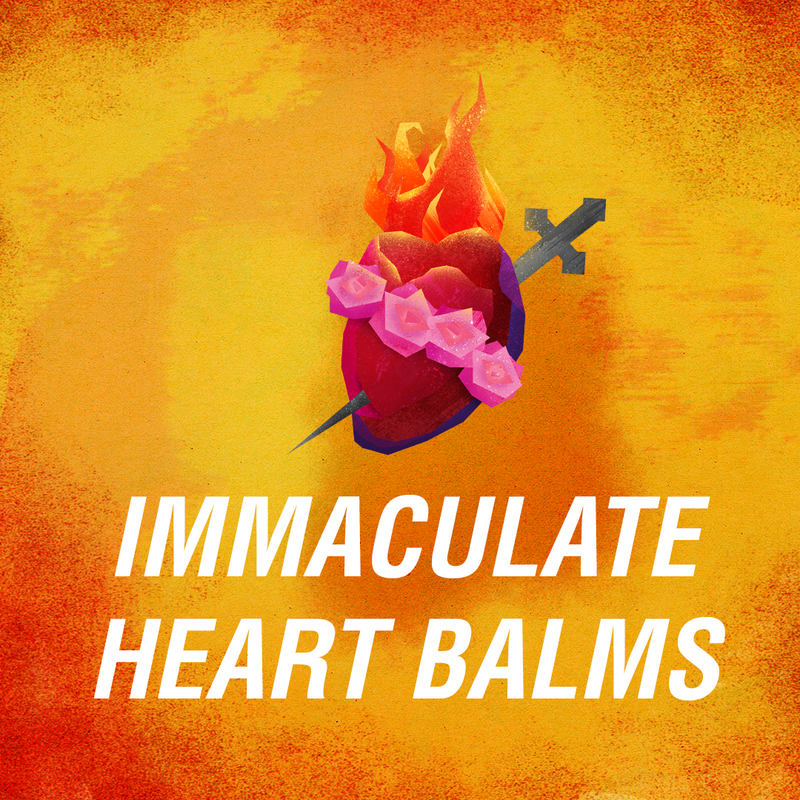 IMMACULATE HEART Lumena Lotion Bar