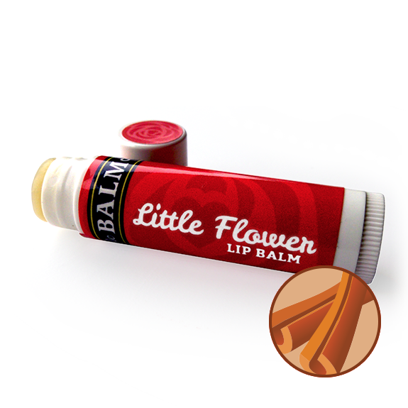 CINNAMON Little Flower Lip Balm