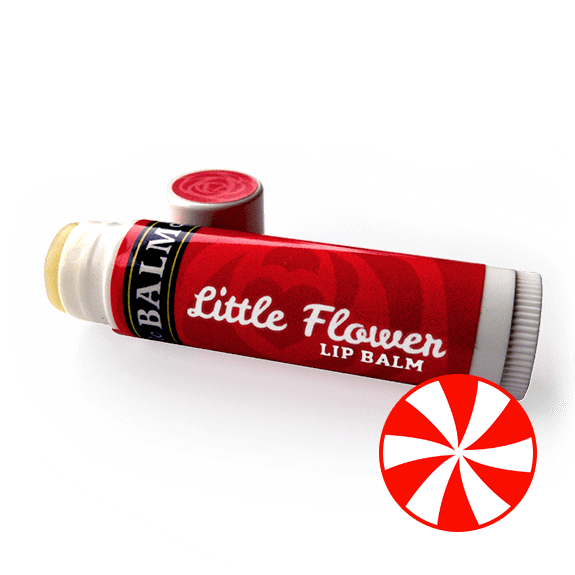 PEPPERMINT Little Flower Lip Balm