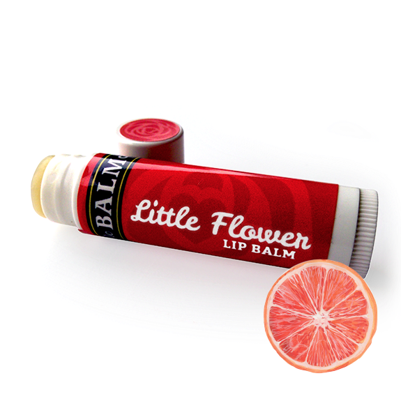 LILLY GRAPEFRUIT Little Flower Lip Balm