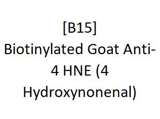 [B15] Biotinylated Goat Anti-4 HNE (4 Hydroxynonenal), Academy Bio-medical Company, Inc.