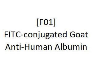 [F01] FITC-conjugated Goat Anti-Human Albumin - AcademyBiomed