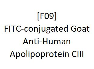 [F09] FITC-conjugated Goat Anti-Human Apolipoprotein CIII, Academy Bio-medical Company, Inc.
