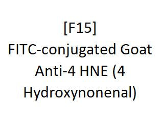 [F15] FITC-conjugated Goat Anti-4 HNE (4 Hydroxynonenal), Academy Bio-medical Company, Inc.