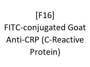 [F16] FITC-conjugated Goat Anti-CRP (C-Reactive Protein), Academy Bio-medical Company, Inc.