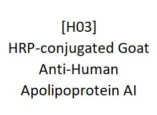 [H03] HRP-conjugated Goat Anti-Human Apolipoprotein AI - AcademyBiomed