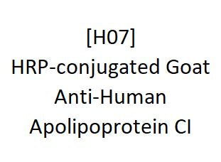 [H07] HRP-conjugated Goat Anti-Human Apolipoprotein CI - AcademyBiomed