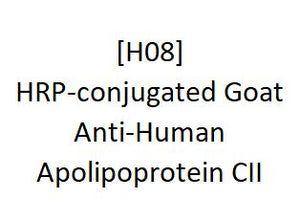 [H08] HRP-conjugated Goat Anti-Human Apolipoprotein CII, Academy Bio-medical Company, Inc.