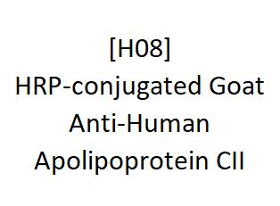 [H08] HRP-conjugated Goat Anti-Human Apolipoprotein CII - AcademyBiomed