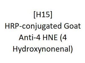 [H15] HRP-conjugated Goat Anti-4 HNE (4 Hydroxynonenal), Academy Bio-medical Company, Inc.