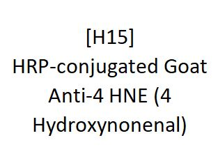 [H15] HRP-conjugated Goat Anti-4 HNE (4 Hydroxynonenal) - AcademyBiomed