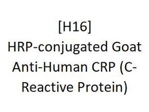 [H16] HRP-conjugated Goat Anti-Human CRP (C-Reactive Protein), Academy Bio-medical Company, Inc.