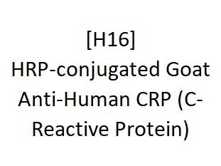 [H16] HRP-conjugated Goat Anti-Human CRP (C-Reactive Protein) - AcademyBiomed