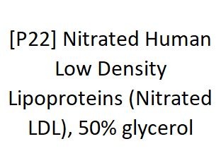 [P22] Nitrated Human Low Density Lipoproteins (Nitrated LDL), 50% glycerol - AcademyBiomed