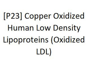 [P23] Copper Oxidized Human Low Density Lipoproteins (Oxidized LDL), Academy Bio-medical Company, Inc.