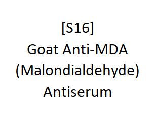 [S16] Goat Anti-MDA (Malondialdehyde) Antiserum, Academy Bio-medical Company, Inc.