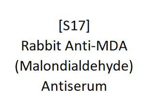 [S17] Rabbit Anti-MDA (Malondialdehyde) Antiserum, Academy Bio-medical Company, Inc.