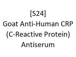 [S24] Goat Anti-Human CRP (C-Reactive Protein) Antiserum, Academy Bio-medical Company, Inc.