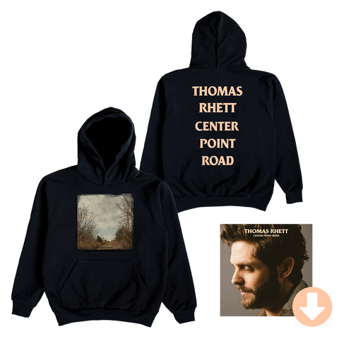 Center Point Road Black Hoodie + Digital Album