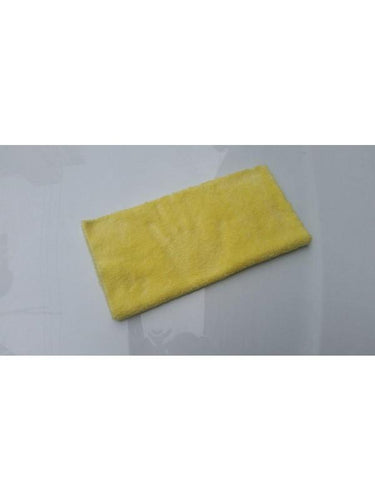 KOREAN MF Plush 350gsm Yellow Microfibre Edgeless Car Detailing Cloth