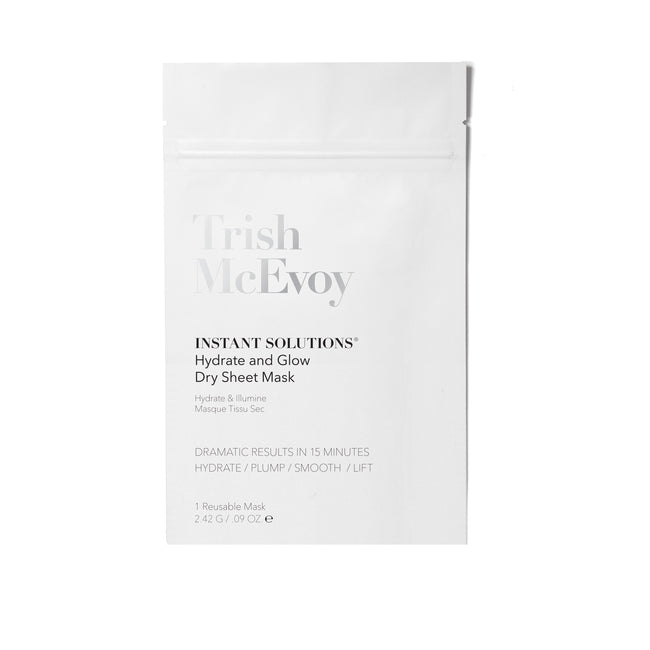 Instant Solutions® Hydrate & Glow Dry Sheet Mask - Single - 1