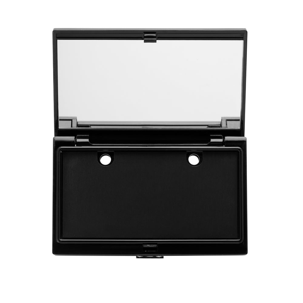 Deluxe Makeup Wardrobing®️ Refillable Magnetic Dual-Level Compact with Planner Charger