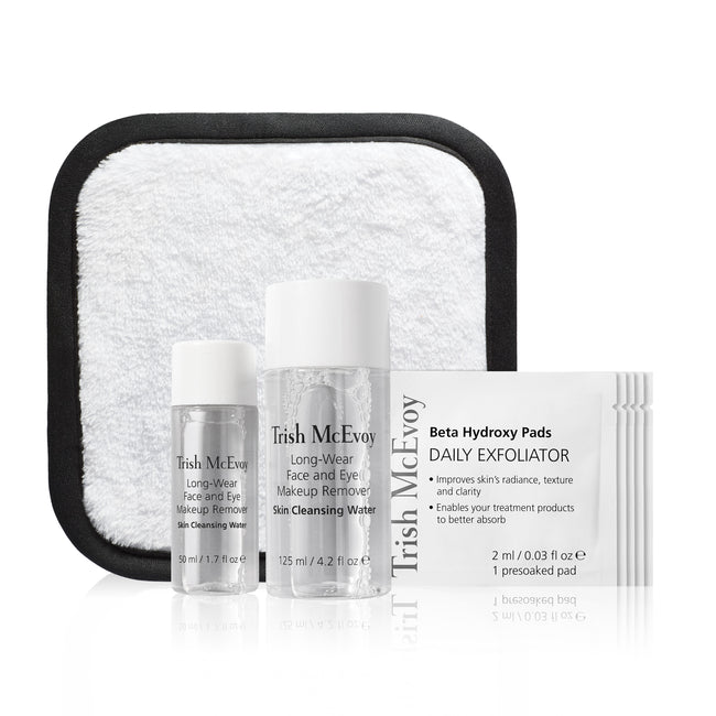 Makeup Removing & Exfoliating On-The-Go Kit