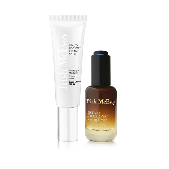Beauty Booster® Cream SPF 30 & Instant Solutions® Tanning Drops Duo