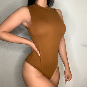 Amanda Bodysuit (Brown)