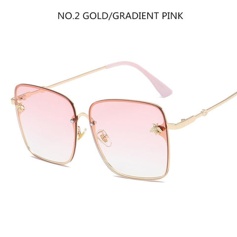 Oversize Square Sunglasses for Women - Cute Angel Market