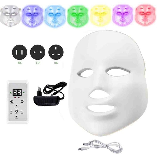 Electric LED Facial Mask