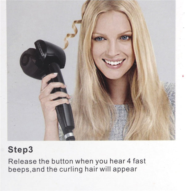 LCD Screen Automatic Curling Iron