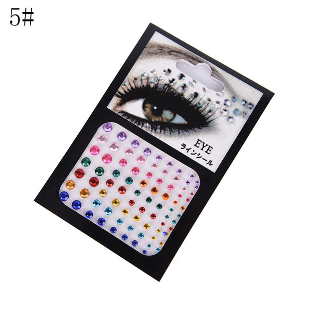 Tattoo Diamond Makeup Eyeliner