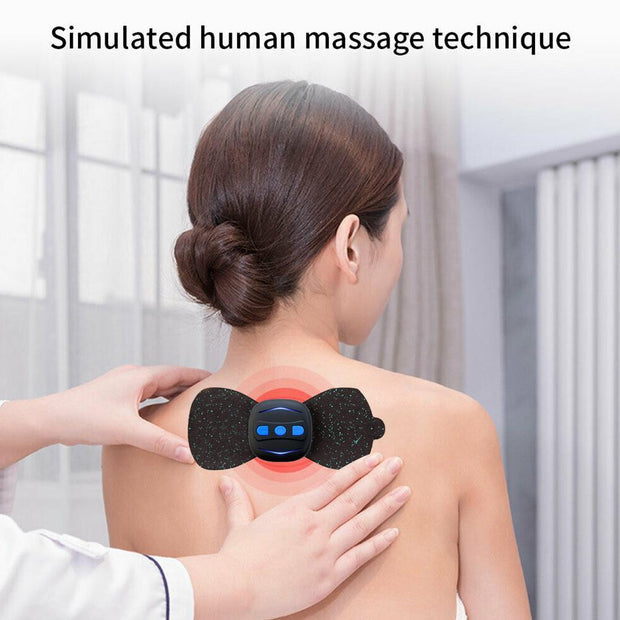 Mini Massage Stickers Neck